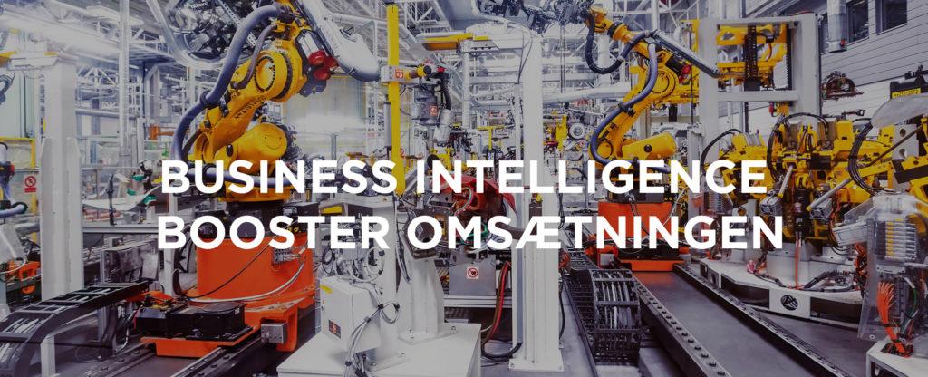 business intelligence øger omsætningen via kpi´´´ er